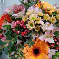 GP009 Įvairių gėlių puokštė